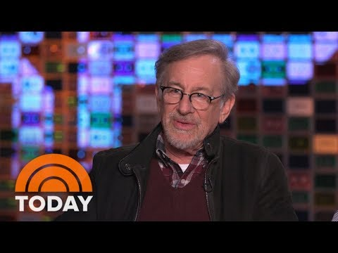 Steven Spielberg Talks About His Latest Film 'Ready Player One'  TODAY
