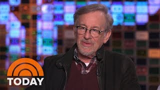 Steven Spielberg Talks About His Latest Film 'Ready Player One' | TODAY streaming
