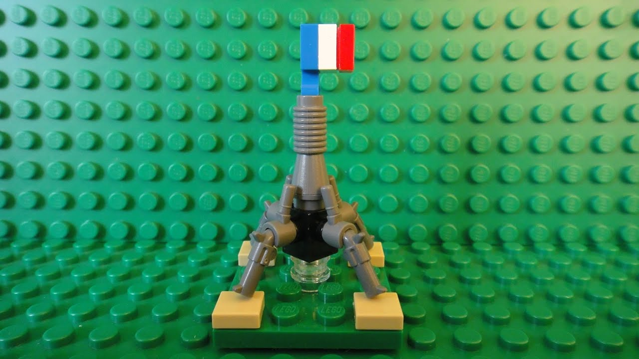 How To Build A Mini Lego Eiffel Tower Mini Buildings Of