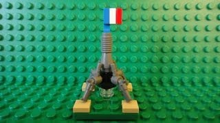 How To Build A Mini Lego Eiffel Tower - Mini Buildings Of The World