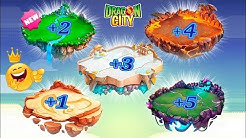 How to unlock all new ISLANDS in DRAGON CITY 2019 ?