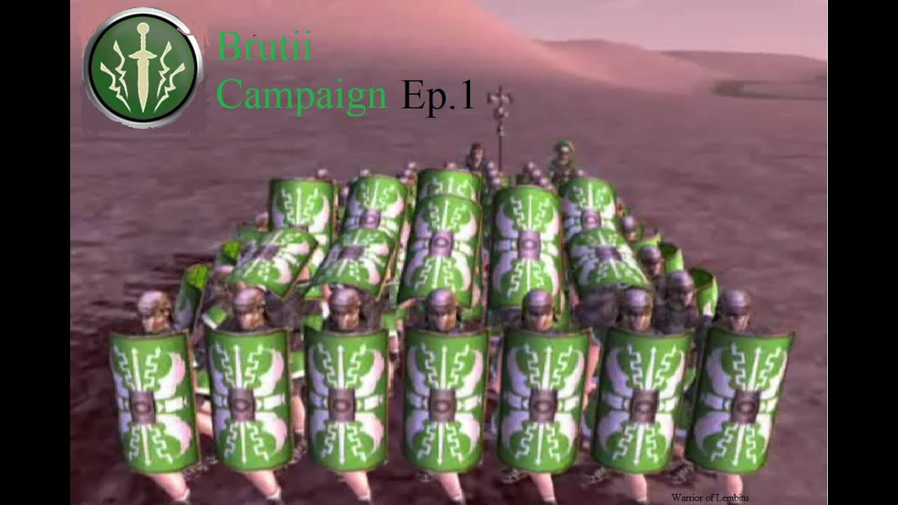 Rome: Total War Brutii Campaign Ep.1 Rebels falling! - YouTube