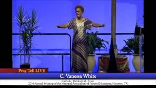 PrayTell Live @ NPM 2016: Plenum with Dr. C. Vanessa White