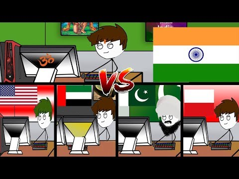 Indian Gamers Vs Foreign Gamers