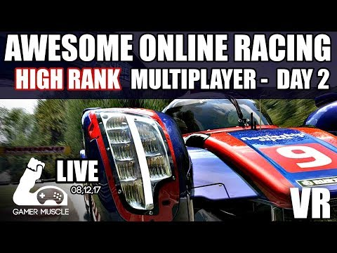 AWESOME CLOSE MULTIPLAYER RACING IN VR - DAY 02 - PROJECT CARS 2