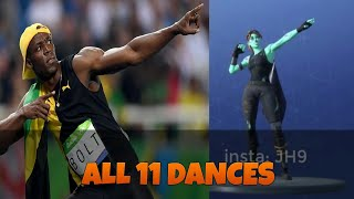 ALL 11 SEASON 5 FORTNITE DANCES IN REAL LIFE!