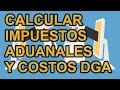 Comprar por internet desde Rep Dominicana - CALCULAR IMPUESTOS de ADUANAS/DGA - Cap 25  SIEPONLINE 