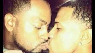 Trey Songz Busted For Being Gay And Kissing A Guy! WTF?