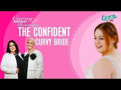 """Like A Million Dollars"" - Rebecca Picks A Flawless Wedding Dress | Curvy Brides' Boutique | TLC"