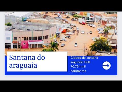 Santana do Araguaia 70 ,764 habitantes IBGE de 2017.