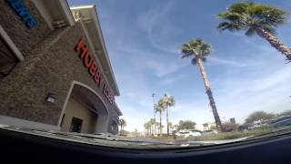 Driving in Las Vegas: Crossroads Plaza Shopping Center