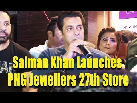 Salman Khan Attends Launch Of PNG Jewellers Store In Pune