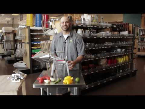How To Use The Nemco Easy Chopper 3