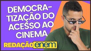 Gambar cover REDAÇÃO MODELO ENEM 2019 | DEMOCRATIZAÇÃO DO CINEMA | PROF. VINÍCIUS OLIVEIRA