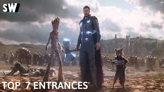 Top 7 Superhero Entrances in Movies | Super World.
