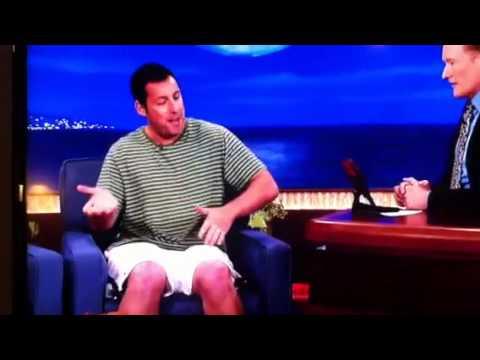 Adam Sandler on Conan Shaq's Dick