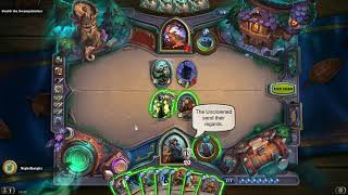 Hearthstone all bosses intro and response of | Witchwood Monster Hunt
