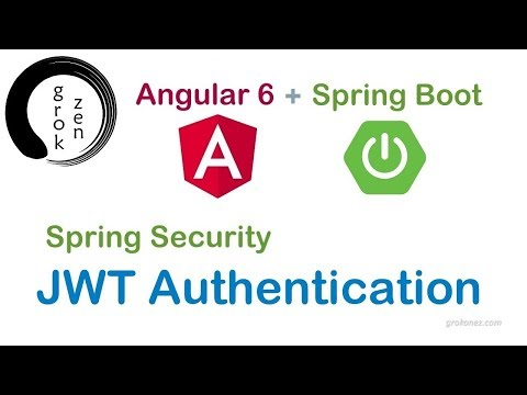 Angular Spring Boot JWT Authentication example | Angular 6 + Spring