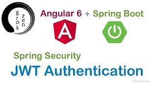 Angular 6 Spring Boot JWT