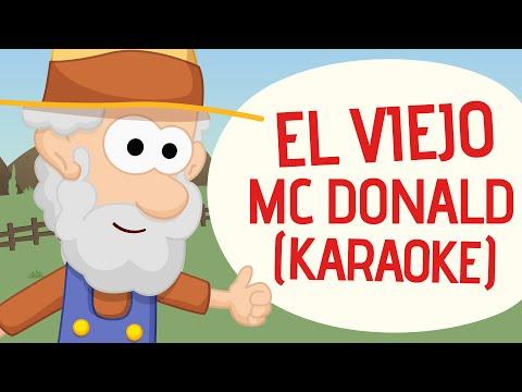 Canciones infantiles | El viejo Mcdonald | Karaoke | Toobys | HD