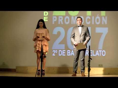 Graduación de 2º de Bacharelato 2017. IES Rosalía de Castro