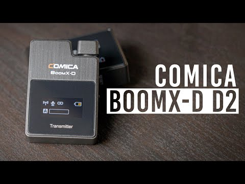 Comica Audio BoomX-D D2 Wireless Mic System | Hands-on Review