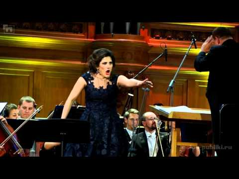 Dinara Alieva - Pace, pace, mio Dio (Moscow Conservatory, Dec 07 2015)