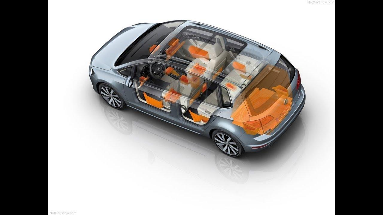 volkswagen golf sportsvan interior youtube