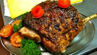 Honey Baked Ham - Honey Glazed Ham Recipe