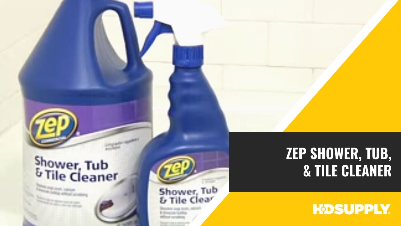 Zep Commercial Shower Tub And Tile Cleaner Hd Supply Facilities Maintenance You