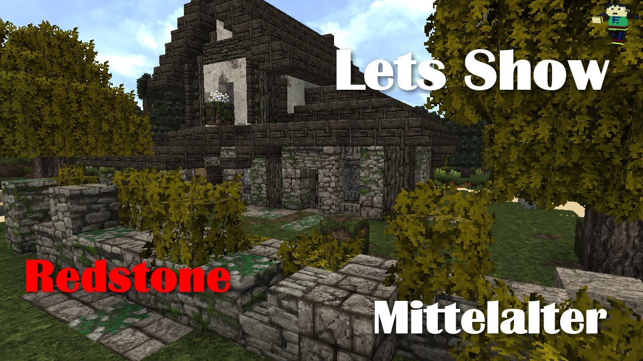 minecraft mittelalter einfaches haus mit redstoneschaltung youtube. Black Bedroom Furniture Sets. Home Design Ideas