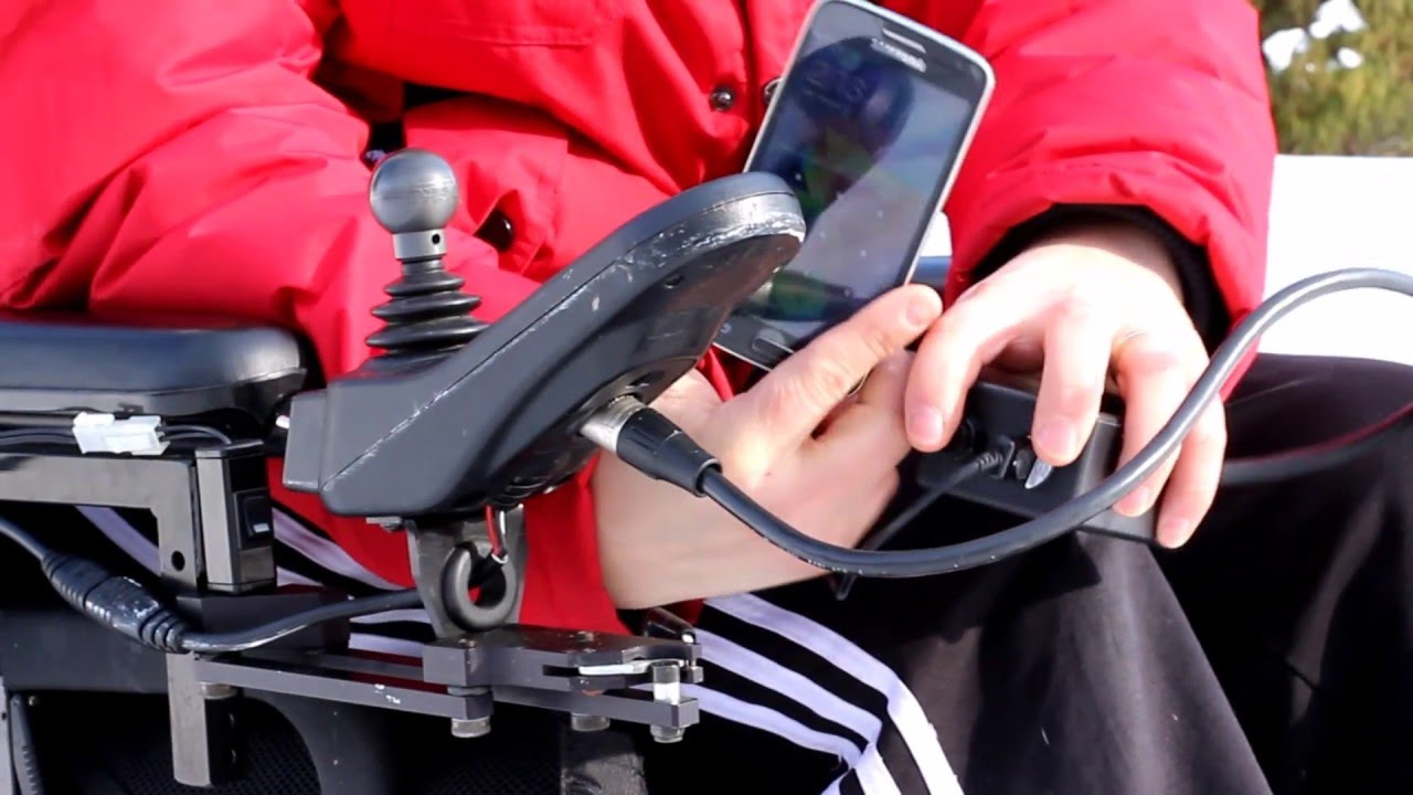 Usb Charger Xlr Wheelchair Or Mobility Scooter Youtube