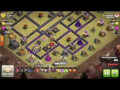 Healer in clan castle troops clash of clan's