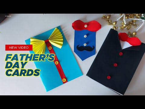 Fathers Day Cards | Father's day gift ideas | Very Easy and Beautiful