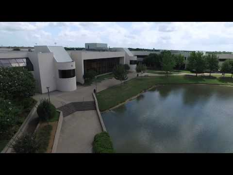 Plano East Senior High School from the air