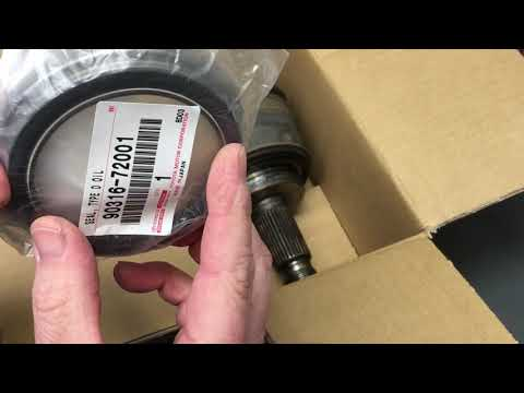 Repeat Toyota prado & similar driveline lubrication points