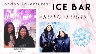 Video LONDON ADVENTURES: ICE BAR - #KONGVLOG16 download MP3, 3GP, MP4, WEBM, AVI, FLV Desember 2017