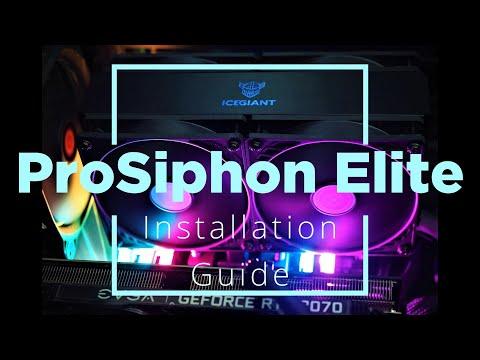 IceGiant ProSiphon Elite Installation Guide