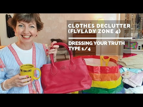 15 minute Clothes Declutter in Flylady Zone 4 (Dressing Your Truth type 1/4)