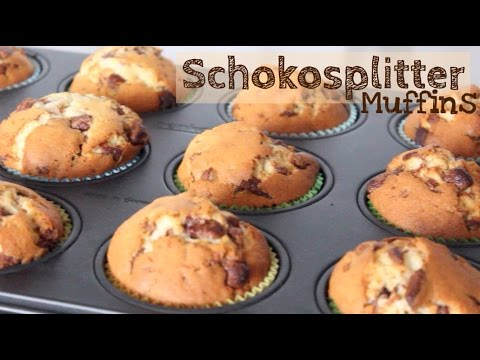 rezept die besten leckersten schokosplitter muffins leicht youtube. Black Bedroom Furniture Sets. Home Design Ideas