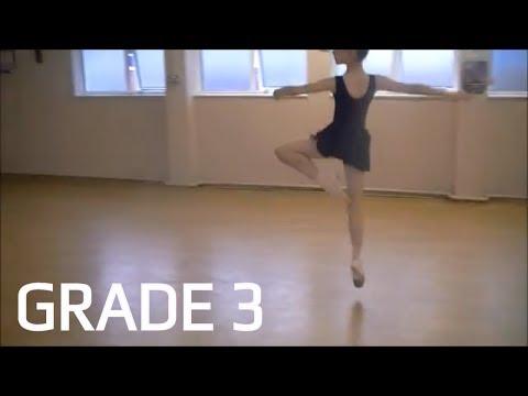 Grade 3 - Dance A   ballet age 9