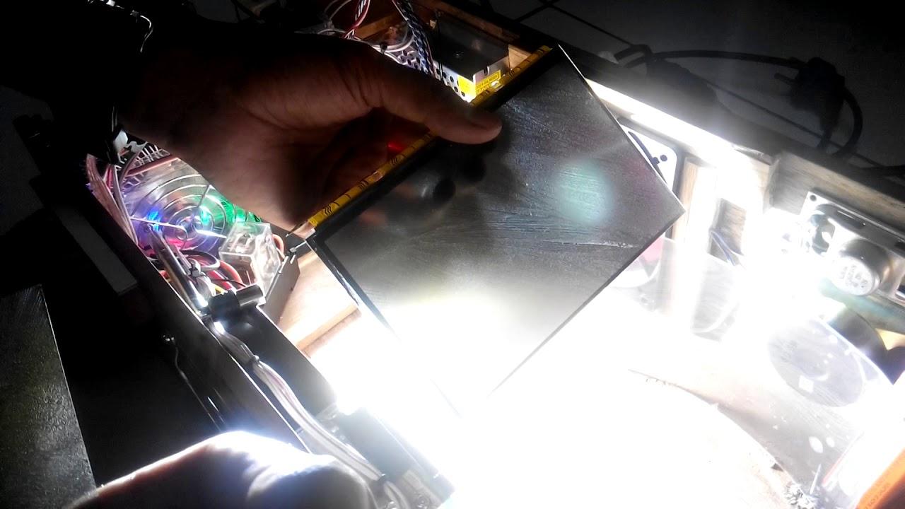 Diy projector tes tanpa polarizer lcd NO70ICG -LD1 - YouTube