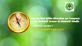 How to find Qibla direction on compass using Android Sensor in Android studio screenshot 4