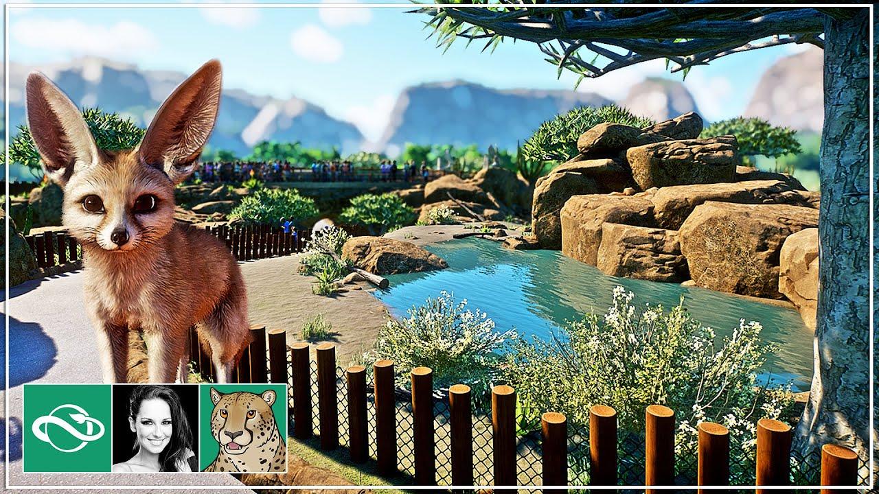 🐆 Fennec Fox habitat | Abuya Zoo | Ep 3