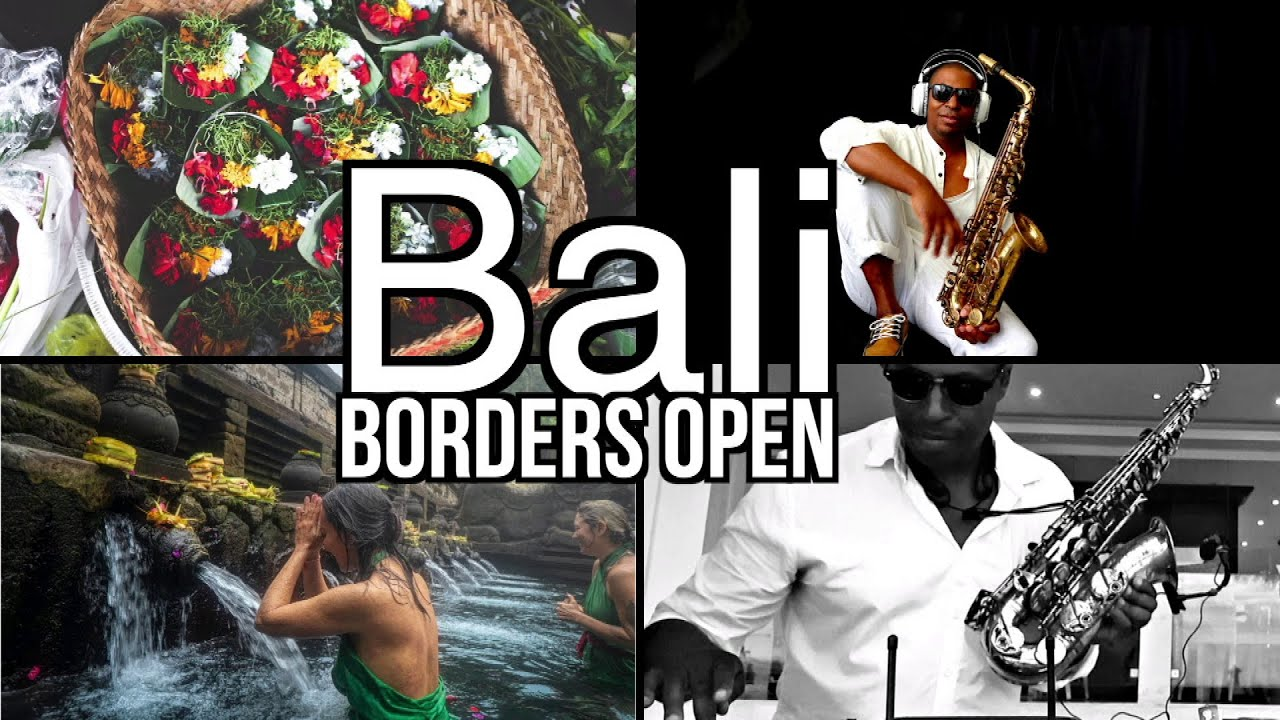 Bali Borders Open By Jimmy Sax Black