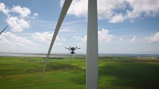 How autonomous drones take care of rotor blades