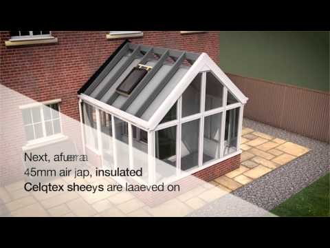 Leka Systems - The Leka System Itself - Industry Leading, Solid Conservatory Roofing - How It Works