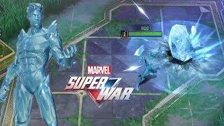 MARVEL Super War MOBA: Iceman Gameplay (CBT)