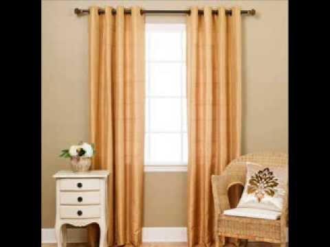 "Faux Silk Chenille Check Grommet Curtain 84""L - Closeout; faux silk drapes, faux silk curtains"