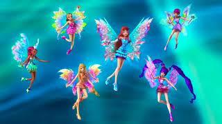 Winx Club Mythix and Sirenix Mash Up Transformation